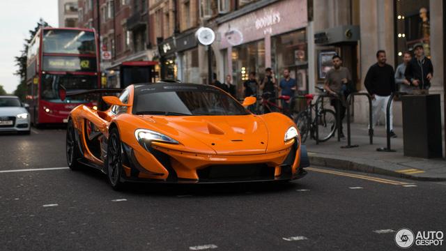 Siêu xe McLaren P1 LM hàng hiếm tại Anh