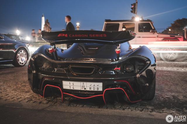 Siêu xe cực hiếm và cực đắt McLaren P1 Carbon Series của tỉ phú Ả Rập xuất hiện tại Pháp - Ảnh 8.