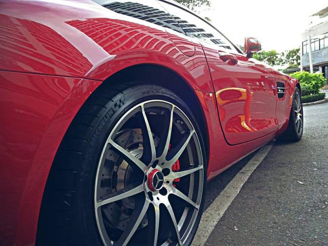 Cường Đô-la tậu thêm siêu xe Mercedes-AMG GT S - Ảnh 8.