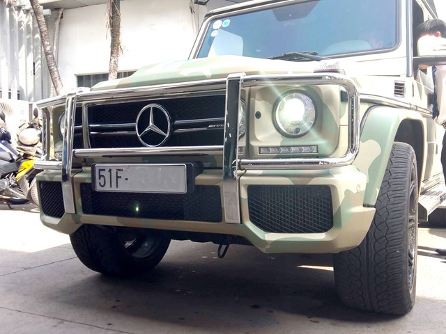 Tay chơi 8X thay áo màu rằn-ri cho Mercedes-Benz G63 AMG - Ảnh 6.