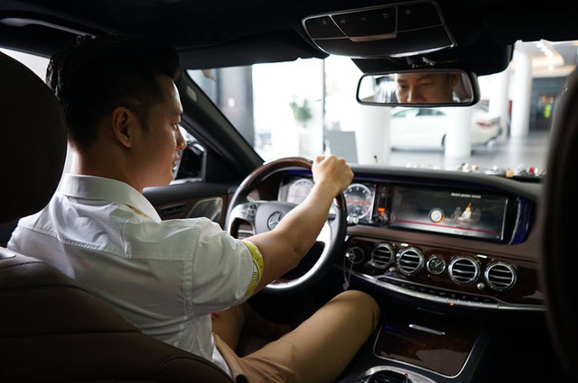 Ca sĩ Đức Tuấn tậu Mercedes-Benz S400L đời mới trị giá 4 tỷ Đồng - Ảnh 5.