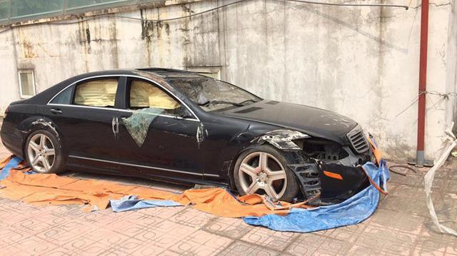Xót xa với Mercedes-Benz S550 AMG của dân chơi Sơn La đóng bụi dày đặc - Ảnh 4.