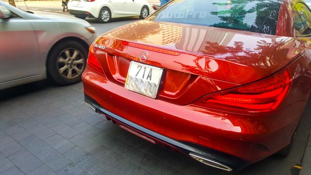 Người đẹp Bến Tre cầm lái xe mui trần hàng hiếm Mercedes-Benz SL400 giá 6,7 tỷ Đồng - Ảnh 8.