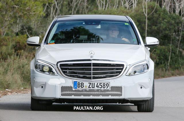 Mercedes-Benz C-Class bản nâng cấp mới lộ diện - Ảnh 1.