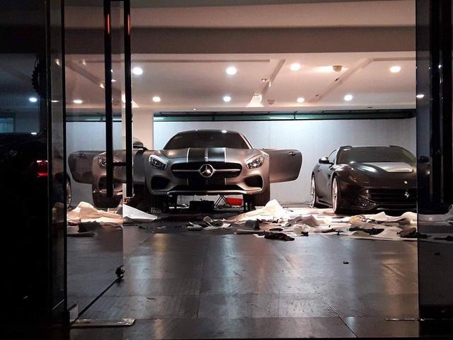 Cường Đô-la thay áo cho siêu xe Mercedes-AMG GT S mới tậu - Ảnh 2.