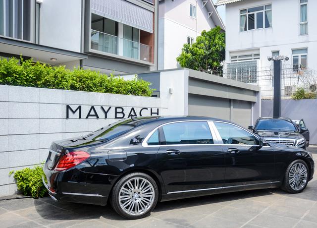 Cận cảnh xe siêu sang Mercedes-Maybach S500 giá 11 tỷ Đồng tại Việt Nam - Ảnh 3.