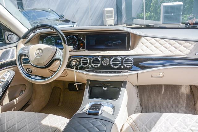 Cận cảnh xe siêu sang Mercedes-Maybach S500 giá 11 tỷ Đồng tại Việt Nam - Ảnh 9.