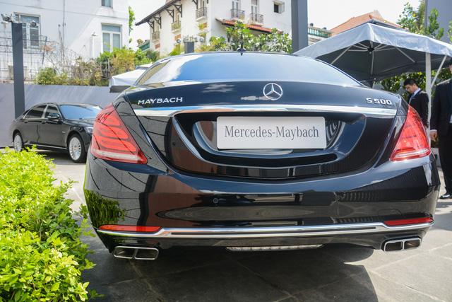 Cận cảnh xe siêu sang Mercedes-Maybach S500 giá 11 tỷ Đồng tại Việt Nam - Ảnh 17.