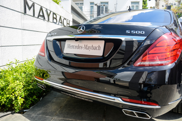 Cận cảnh xe siêu sang Mercedes-Maybach S500 giá 11 tỷ Đồng tại Việt Nam - Ảnh 6.
