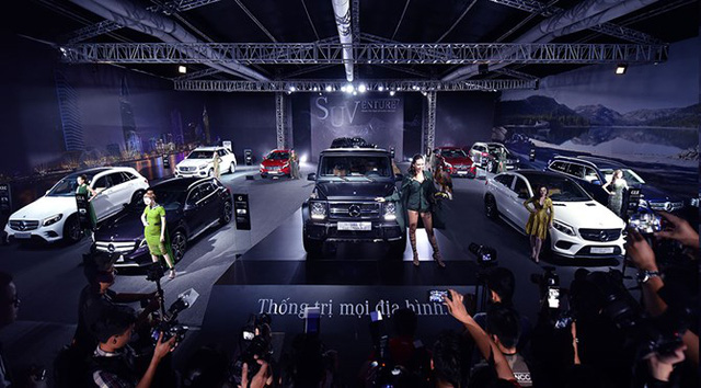 Sắp khai màn Mercedes-Benz Fascination 2017 tại Hà Nội với dàn xe tổng trị giá 150 tỷ Đồng - Ảnh 1.