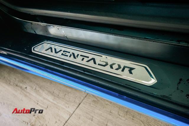 Siêu xe Lamborghini Aventador xanh dương độc nhất Việt Nam tái xuất - Ảnh 9.