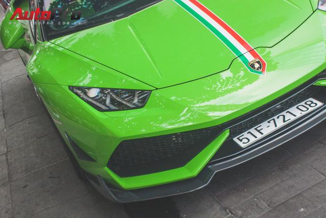 Siêu xe Lamborghini Huracan tái xuất tại Sài Gòn với diện mạo mới - Ảnh 10.