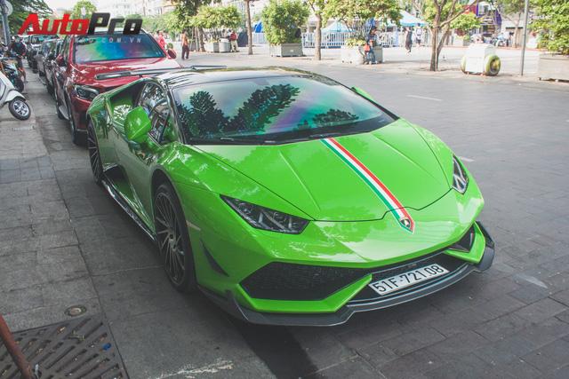 Siêu xe Lamborghini Huracan tái xuất tại Sài Gòn với diện mạo mới - Ảnh 3.