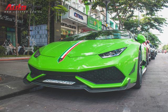 Siêu xe Lamborghini Huracan tái xuất tại Sài Gòn với diện mạo mới - Ảnh 4.