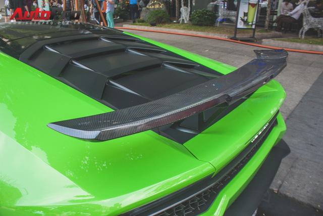 Siêu xe Lamborghini Huracan tái xuất tại Sài Gòn với diện mạo mới - Ảnh 5.