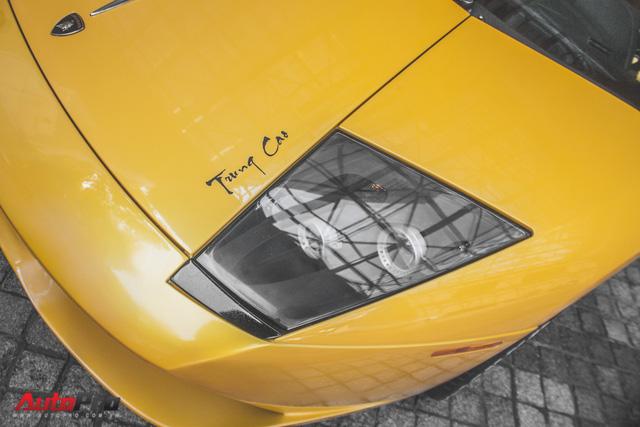 Lamborghini Murcielago màu vàng độc nhất Việt Nam tái xuất sau một năm vắng bóng - Ảnh 5.