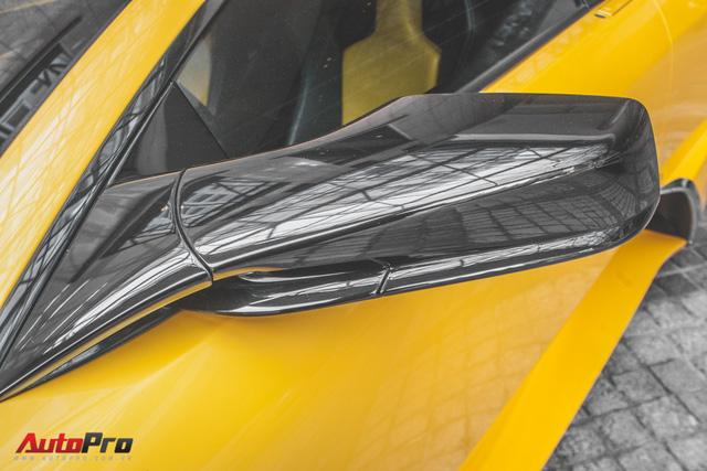 Lamborghini Murcielago màu vàng độc nhất Việt Nam tái xuất sau một năm vắng bóng - Ảnh 6.
