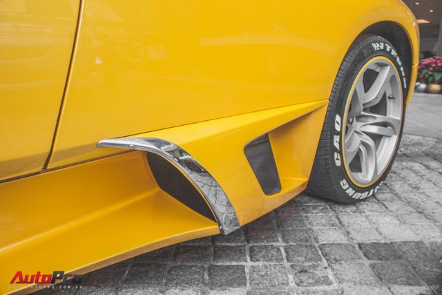 Lamborghini Murcielago màu vàng độc nhất Việt Nam tái xuất sau một năm vắng bóng - Ảnh 7.