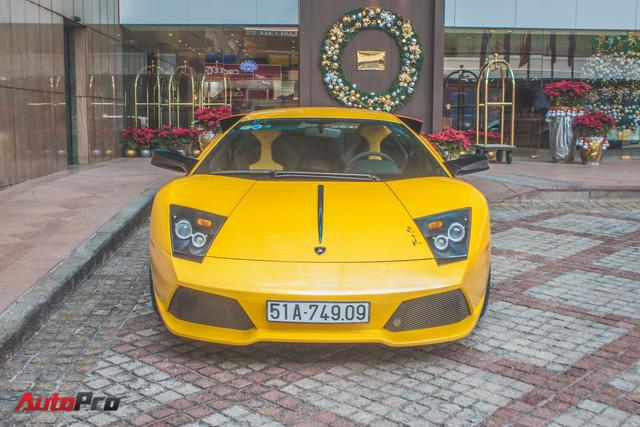 Lamborghini Murcielago màu vàng độc nhất Việt Nam tái xuất sau một năm vắng bóng - Ảnh 2.