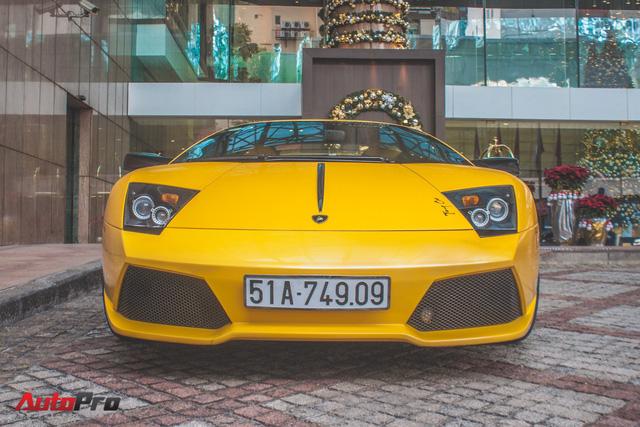 Lamborghini Murcielago màu vàng độc nhất Việt Nam tái xuất sau một năm vắng bóng - Ảnh 3.