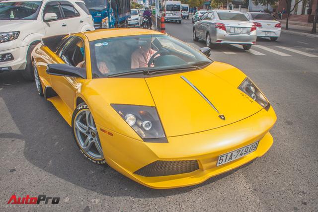 Lamborghini Murcielago màu vàng độc nhất Việt Nam tái xuất sau một năm vắng bóng - Ảnh 13.