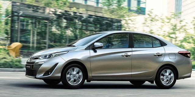 Toyota Vios 2018 ra mắt tại Lào và Campuchia, giá từ 19.300 USD - Ảnh 4.
