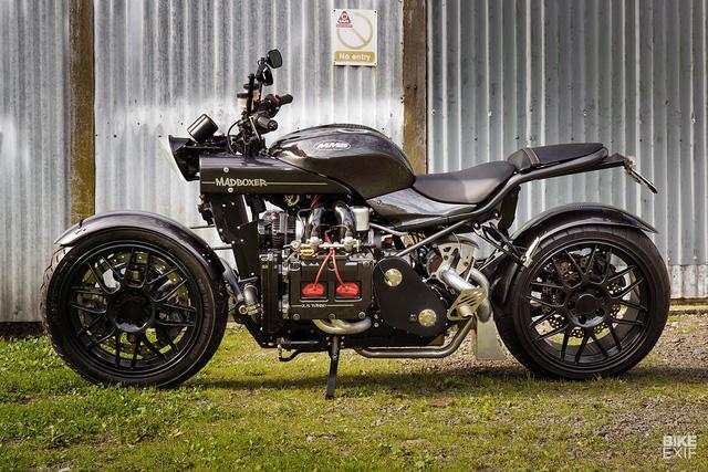 Diện kiến siêu mô tô Madboxer dùng động cơ Subaru WRX - Ảnh 1.