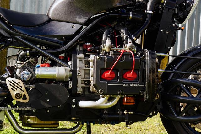 Diện kiến siêu mô tô Madboxer dùng động cơ Subaru WRX - Ảnh 4.