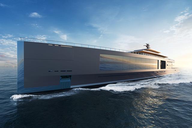 Khám phá siêu du thuyền hoà mình với đại dương nhất từ trước tới nay - Ảnh 1.