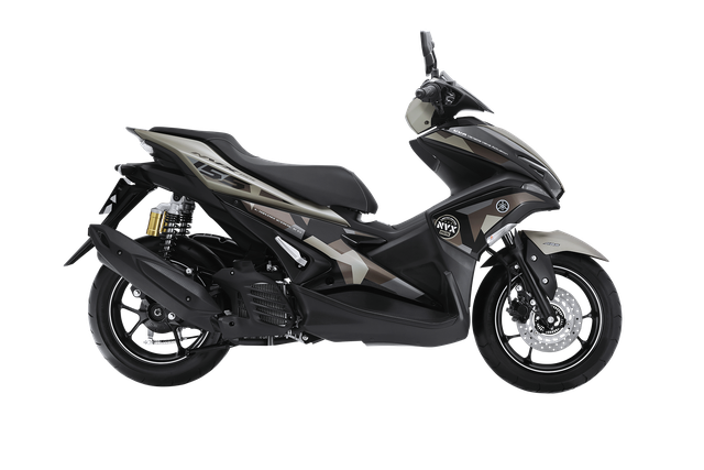 Yamaha NVX 155 có thêm phiên bản Camo cá tính, giá từ 52,69 triệu Đồng - Ảnh 3.