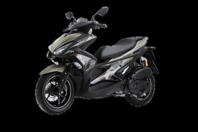 Yamaha NVX 155 có thêm phiên bản Camo cá tính, giá từ 52,69 triệu Đồng - Ảnh 2.