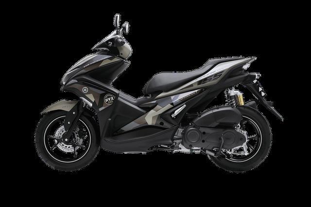 Yamaha NVX 155 có thêm phiên bản Camo cá tính, giá từ 52,69 triệu Đồng - Ảnh 4.