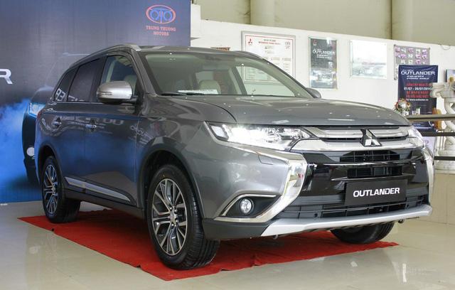 Đấu Honda CR-V, Mitsubishi Outlander chuyển sang lắp ráp trong nước - Ảnh 1.