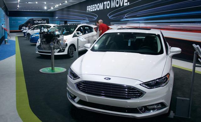 Ford hợp tác với Jack Ma để bán ô tô trực tuyến - ảnh 1