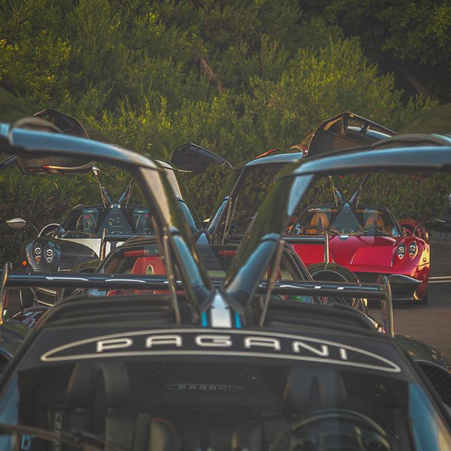 Dàn siêu phẩm Pagani tụ tập tham dự tuần lễ xe Monterey 2017 - Ảnh 6.