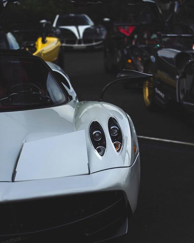 Dàn siêu phẩm Pagani tụ tập tham dự tuần lễ xe Monterey 2017 - Ảnh 14.
