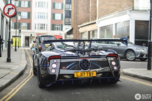 Siêu phẩm Pagani Zonda thửa riêng của ông chủ đại lý Bugatti tái xuất - Ảnh 4.