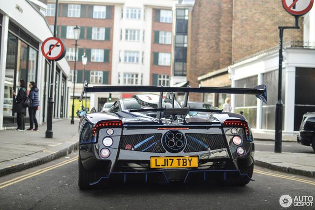 Siêu phẩm Pagani Zonda thửa riêng của ông chủ đại lý Bugatti tái xuất - Ảnh 3.