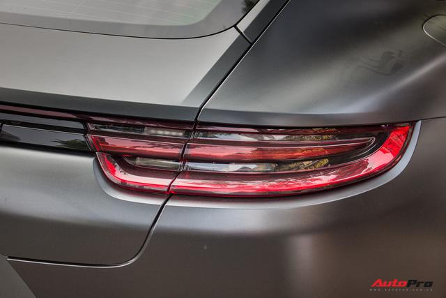 Porsche Panamera Turbo 2017 giá hơn 12 tỷ đầu tiên đổi màu tại Hà Nội - Ảnh 9.