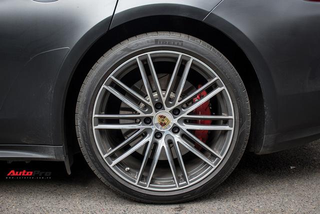 Porsche Panamera Turbo 2017 giá hơn 12 tỷ đầu tiên đổi màu tại Hà Nội - Ảnh 7.