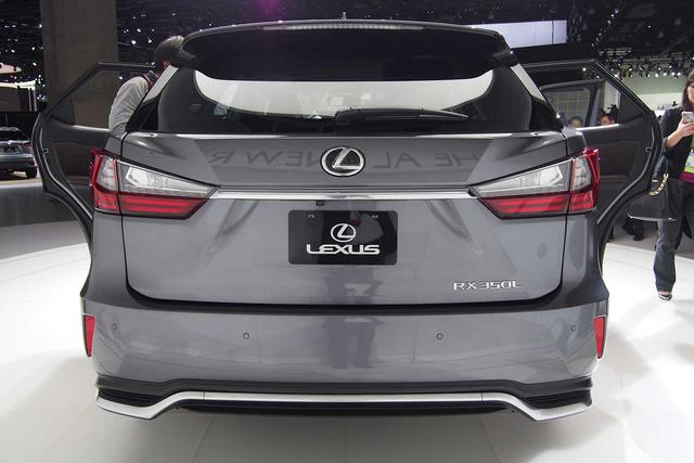 Lexus RX L chính thức gia nhập phân khúc SUV 7 chỗ hạng sang - Ảnh 2.