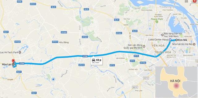 Hà Nội sắp khởi công tuyến buýt nhanh BRT thứ 2 dài 35 km - Ảnh 2.