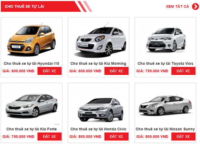 Sôi động thị trường cho thuê xe tự lái trên mạng dịp Tết - Ảnh 2.