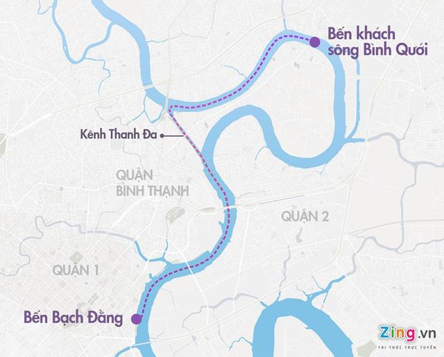 TP.HCM mở thêm tuyến buýt sông từ quận 1 đi Phú Mỹ Hưng - Ảnh 1.