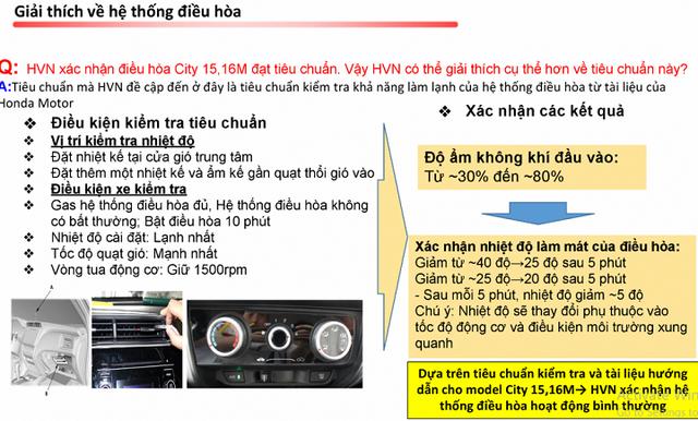 Honda Việt Nam giới hạn bảo hành nếu mẫu ô tô City bị lỗi điều hòa không mát - Ảnh 1.