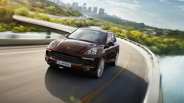 Đức thu hồi hơn 22.000 xe Porsche Cayenne do bê bối khí thải