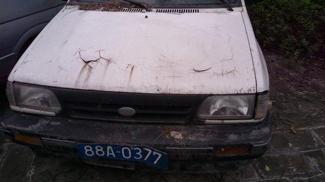 Cận cảnh chiếc xe công giá 15 triệu ở Vĩnh Phúc: Của rẻ là của ôi - ảnh 1