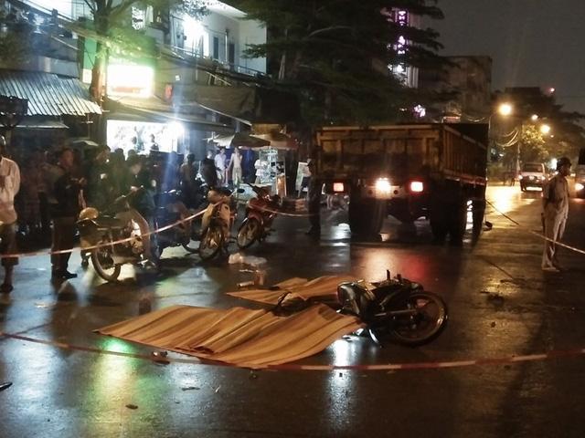 3 công nhân trẻ chết thảm trong đêm trên đường đi làm về - Ảnh 1.