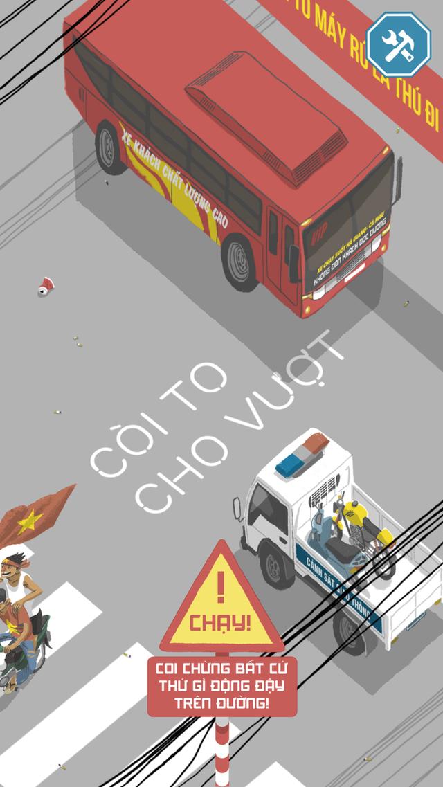 Chơi ngay tựa game Việt cho bạn làm ninja đi xe Lead vượt chướng ngại vật - Ảnh 1.
