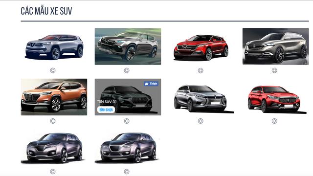 Ngắm nhìn 20 mẫu ô tô mà VinFast tung ra để khách hàng Việt có thể bình chọn chiếc thích nhất - Ảnh 1.